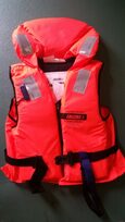 Samsa approved 100N zip up life jacket with neck support